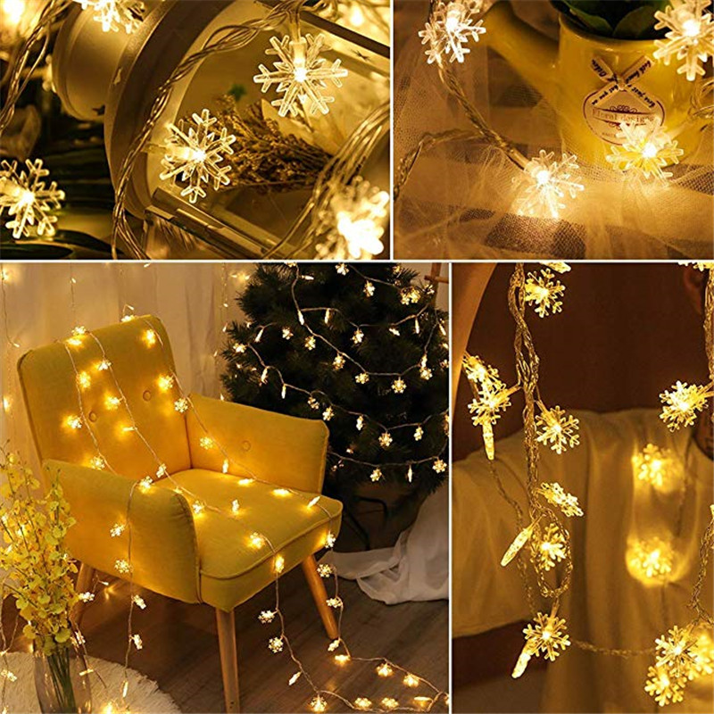 20 40 80 LED String Fairy Battery Operated Lights Party Xmas Home Decorations
