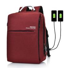Men Backpack Bag Brand Laptop Notebook Casual Daypack Mochil