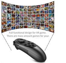 VR Óculos de Realidade Virtual Sem Fio Bluetooth Gamepad Joystick Controle Remoto Sem Fio Controle Remoto para Jogos de Filmes de Vídeo
