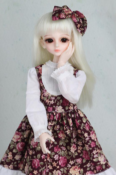 1/3 1/4 1/6 1/8 BJD SD Volks Dod Sooms Ai Doll Clothes Lovely Dress With Butterfly For Girls Doll Dress