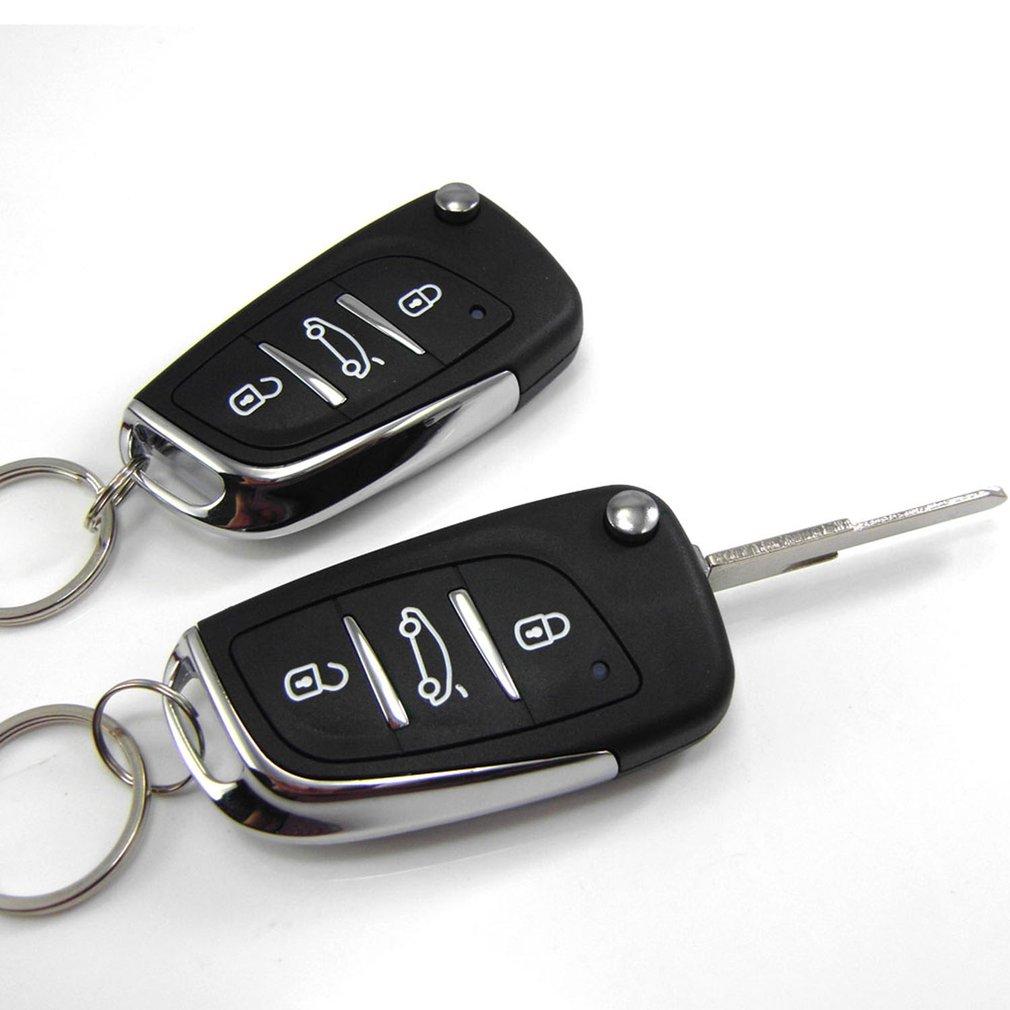 M602-8175DS Universal Fernbedienung Zentralen Locking Kit Auto Türschloss Keyless Entry System Mit Stamm Release Taste