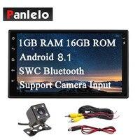 Panlelo S6 2 Din Head Unit Auto Radio GPS Navigation Car Stereo Android 8.1 Wi Fi Mirror Link Bluetooth Steering Wheel Control