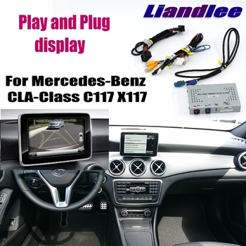 Liandlee Parking Camera Interface Reverse Back Up Camera Kits   For Mercedes Benz CLA MB C117 X117 NTG Display Upgrade
