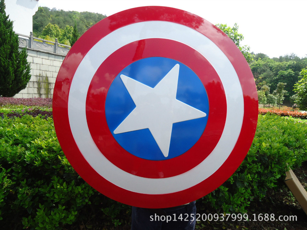 Avengers Weapon Armor Captain America Shield Steve Rogers Vibranium Shield Prop Cosplay