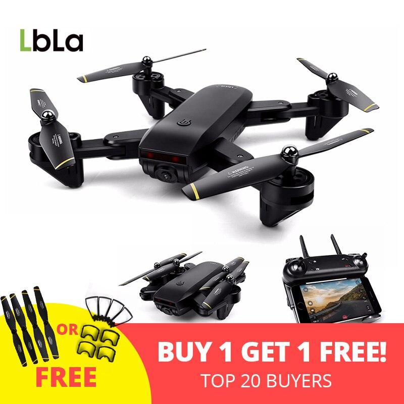 LBLA Drone with Camera WIFI FPV Quadcopter with 720P HD Camera Live Video Headless Mode 2.4GHz 4CH 6 Axis Gyro Foldable RTF wltoys v686k wifi video real time phone fpv quadcopter with camera headless mode 2 4g 4ch 6 axle gyro rc drone ufo rtf vs x5sw