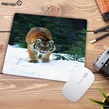 Mairuige Tiger Dolphin panda Animal waterproof game mouse pad Gaming Speed mousepad office laptop Mat Big promotion For Russia