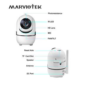 Image 2 - Home Security 720P Baby Monitor Wifi Baby Monitor With Camera Night Vision Two Way Audio Video Nanny Baby Phone Camera Wireless