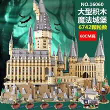 Lepin 16060 Series Legoinglys 71043 Hogwarts Castle Building Blocks Bricks
