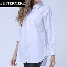 ビッグサイズ長袖ブルーストライプシャツ BUTTERMERE Feminina 4XL
