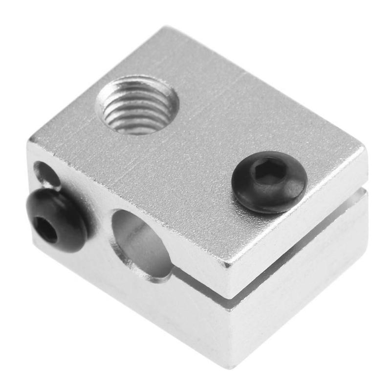 Official Ismaring 3 D Printer Parts Reprap E3d V6 Aluminium Heater Block For Hotend Sand Blasting Surface 20*16*11.5mm Remote Control Toys
