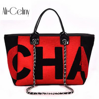 2018 Limited Casual Totes For Women Padded Bag Large Capacity Ladies Handbag Wild Shoulder Simple Light Shopping