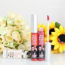 1 unids Belleza brillo de Labios Mate Lápiz Labial Líquido Impermeable Duradera Maquillaje de Labios Stick Mágica Marca de Color Rojo