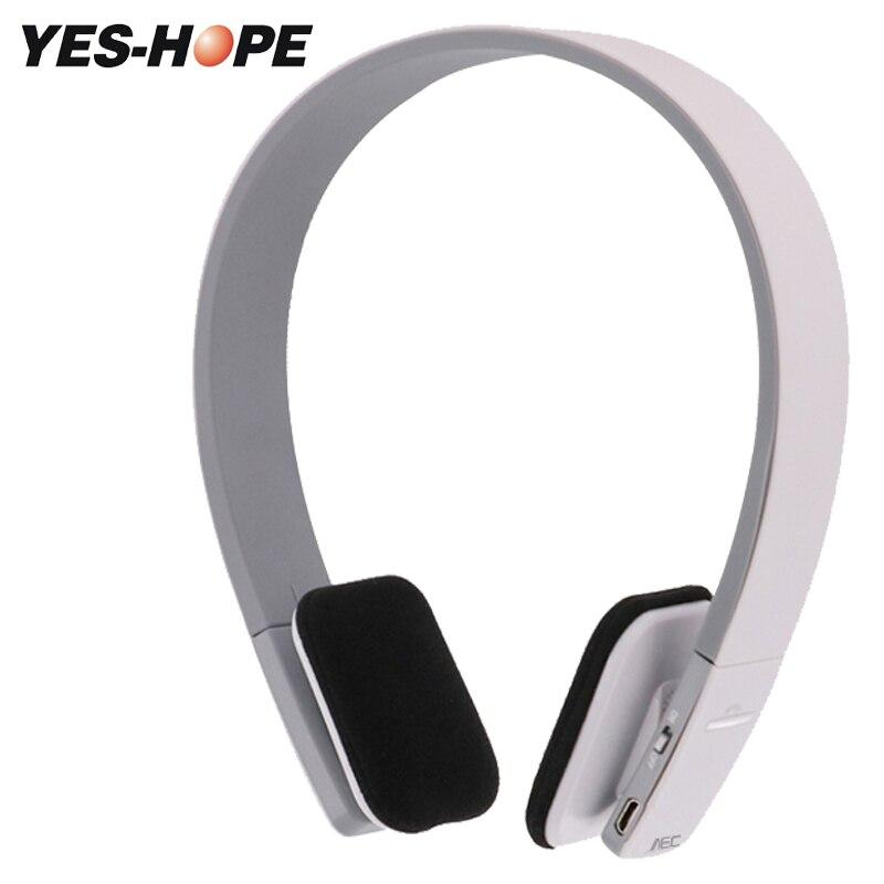YES-HOPE Wireless Headphones Bluetooth Headset Stereo Foldable Sport Earphone Microphone headset bluetooth earphone YHBT1919