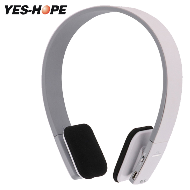 YES-HOPE Wireless Headphones Bluetooth Headset  Stereo Foldable Sport Earphone Microphone headset bluetooth earphone YHBT1919 original xiaomi sport bluetooth earphone wireless sport stereo headphones with microphone ip6 waterproof bluetooth 4 1 headset