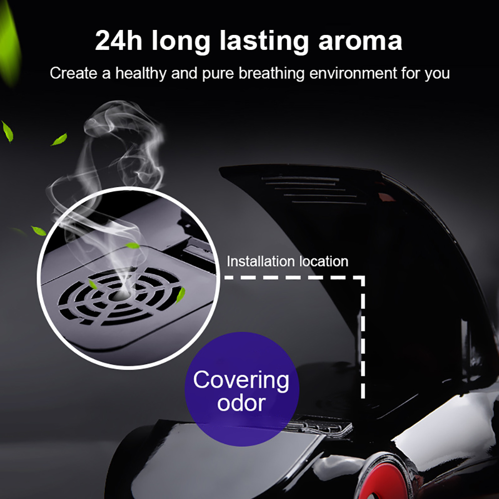 Car Ornaments Sports Model Aromatherapy Decoration Rotary Navigation Phone Holder Automobile Interior Dashboard Fragrance Gifts Automobiles & Motorcycles