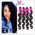 Superior 7a Malasia Virgin Hair Body Wave 4 Bundles Malasia Onda del cuerpo Del Pelo Rosa Extensión Del Pelo Humano de la Armadura Bundles ofertas