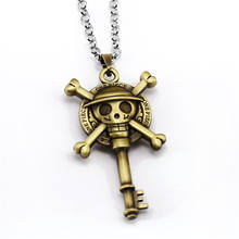 One Piece Bronze Metal Pendant