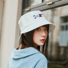 White Bucket Hat Women Summer Sun For Girls Fashion Outdoor Sports Hip Hop Cap Men Panama Man Soft Fishing