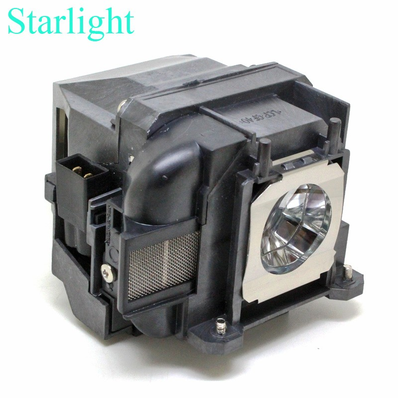 Lampada compatibile per ELP78 V13H010L78 EB-945 955 W S17 S18 W18 W22 X18 X20 X24 X25 W28 EH-TW490 EH-TW5200 con alloggiamento