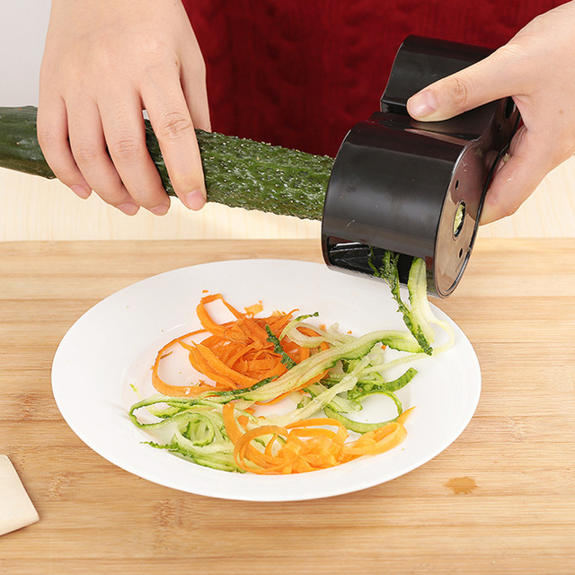 Double Spiral Vegetable Slicer
