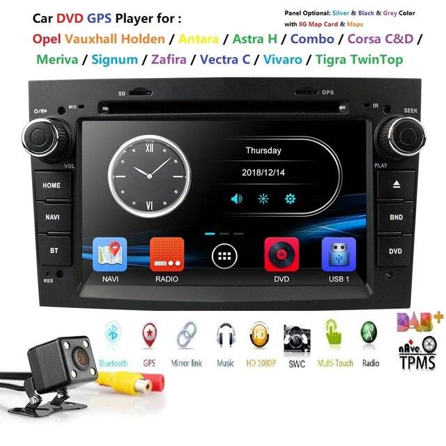 AutoRadio 2Din Auto DVD Multimedia Player Fit Opel Vectra C b Corsa D Astra H Vivaro corsa c d zafira b Meriva AntaraAudio RDSDAB