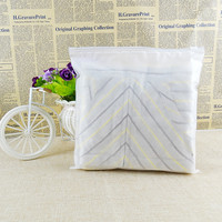 100pcs 24x35cm Zip Lock Zipper Top Frosted Plastic Bags For Clothing T Shirt Skirt Retail Packaging