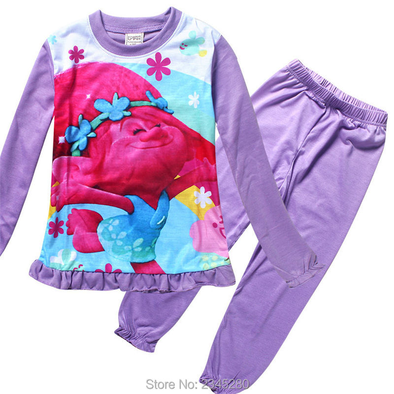 For Girls Clothes Trolls Pyjamas Kids Girl Clothing Sets Christmas Costumes Children Suit For The New Year Sleepwear Teenage 15