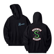 Riverdale Hoodie Men Women South Side Serpents Harajuku Southside Boys Girls Oversize Sweatshirts Pullover Hoodies