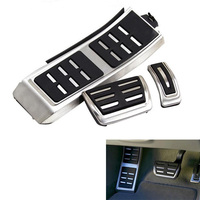 YAQUICKA Car Automatic Gas Brake Foot Rest Pedals For AUDI A4 B8 S4 RS4 A5 S5