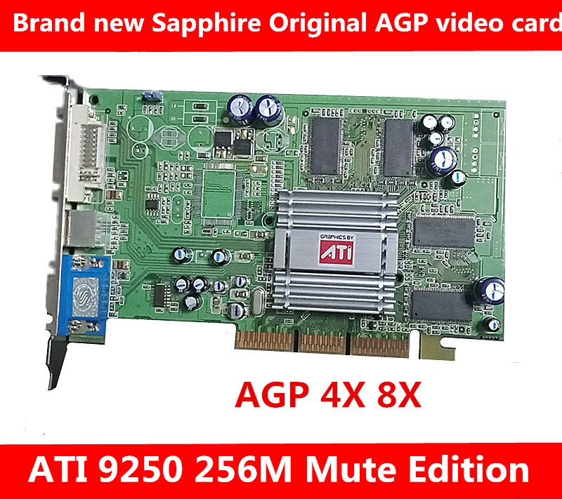 Mute, AGP, New, Radeon, Card, And