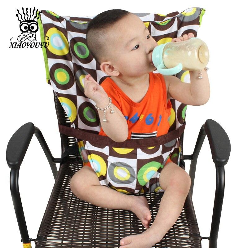 Bambino Sedia Seggiolino Portatile Prodotto Da Pranzo Pranzo Sedia/Cintura di Sicurezza Nutrire High Chair Harness Baby Carrier