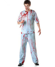 zombie costumes for men zombie clothing doctor costume scary halloween costumes for men halloween suit