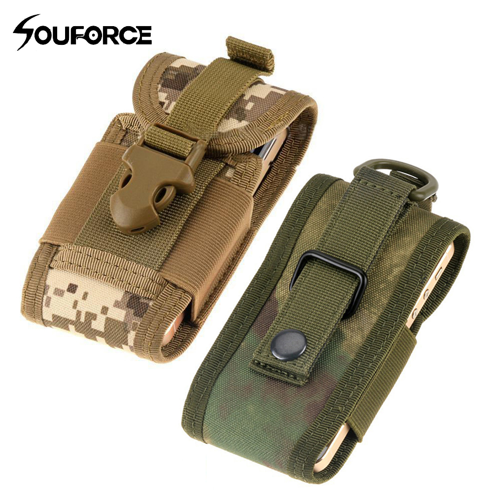 6 Color Tactical Phone Bag Waist Bags Men Military Molle Backpack Hanging Sport Pouch Waterproof Hunting Belt Bags