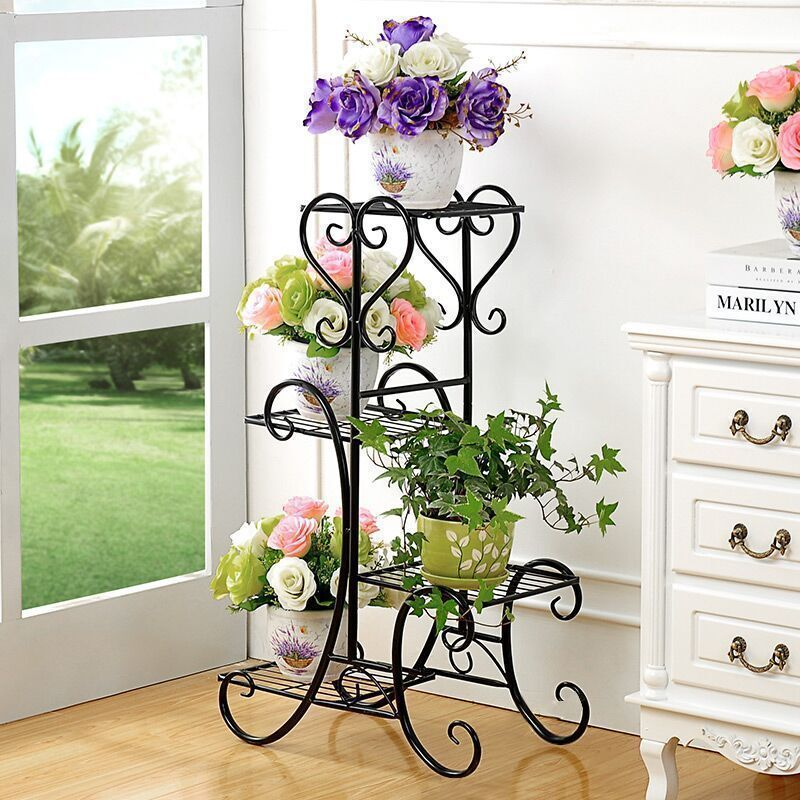 Terrasse Decorative Metal Shelf Garten Dekoration Decoration