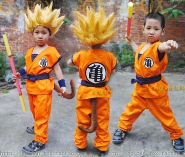 Dragon Ball Z Son Goku Cosplay Costume