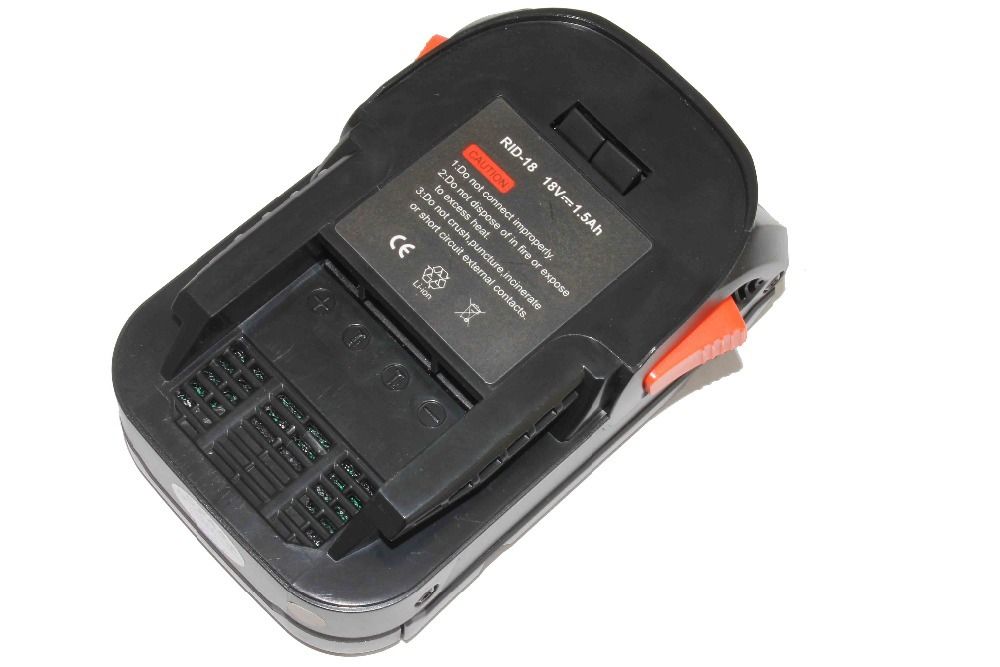 Replacement power tool battery for Ridgid R840085 18V 1.5Ah Lithium Ion Battery X3 X4 Drills Saws Impacts Rigid 18v 3 0ah nimh battery replacement power tool rechargeable for ryobi abp1801 abp1803 abp1813 bpp1815 bpp1813 bpp1817 vhk28 t40