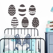 Drop Shipping eggs Wall Stickers Personalized Creative For Living Room Bedroom Mural Custom