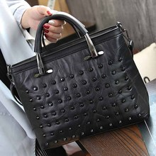 Aliwood Diamond Women's handbags Genuine Leather Rivet Crossbody bags for Women Messenger Bags Brands Patchwork Tote Beans bag