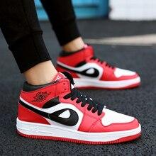 Брендовая мужская обувь для скейтборда унисекс кожаные кроссовки в стиле хип-хоп спортивная женская обувь на шнуровке tenis feminino esportivo