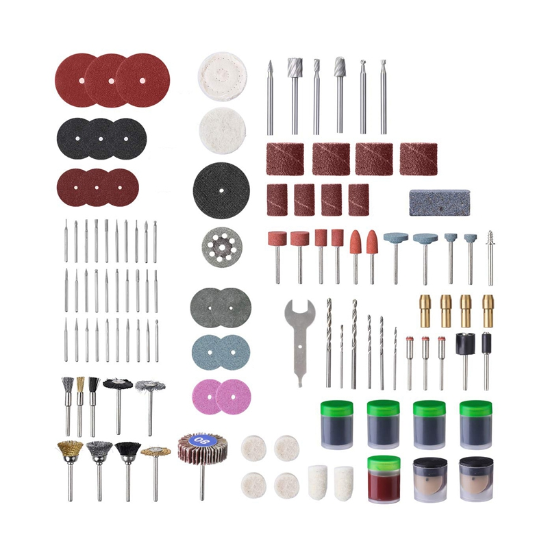 315Pcs Rotary Tool Accessories Bit Set Drill Polishing Kit For Dremel Grinding Bit Set