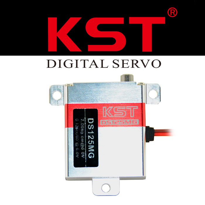 Original KST DS125MG Metal Gear 7KG Digital Wing Servo for RC Glider free shipping kst ds145mg digital wing servo for glider with high precision metal gear