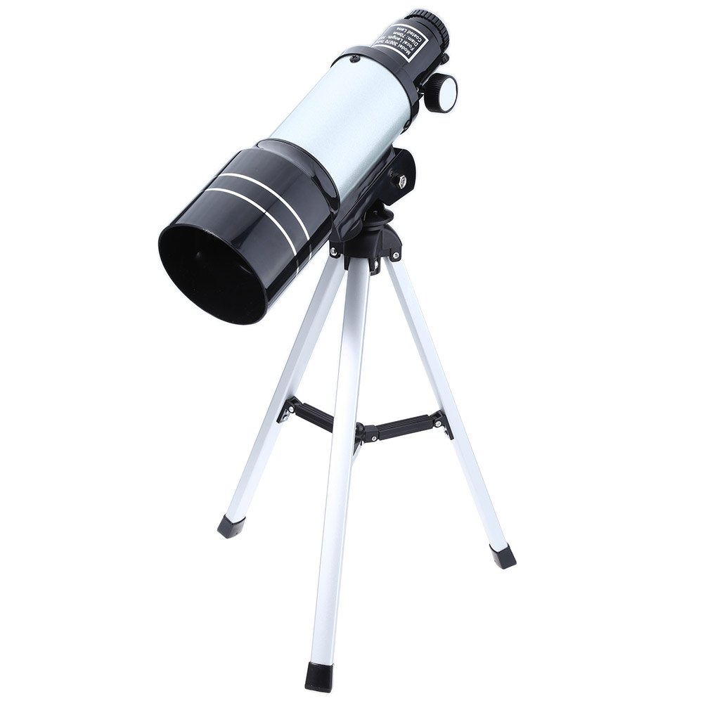 F30070M Monocular Outdoor Monocular Space Astronomical Telescope With Portable Tripod Adjustable lever TeleConverter bosma 80 900 astronomical telescope monocular equatorial refractive fully coated telescope with portable tripod w2358b