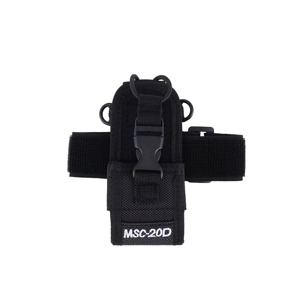 Arm Bag Applicable FOR  Baofeng Uv-5r 888s 5rb Midland Lxt500 Gxt1000 Yeasu Vx-7r Kenwood Tk3107 3207 Walkie-talkie