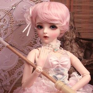 BJD 1/3 мяч шарнирная кукла подарки для девочки ручная роспись макияж полный набор Лолита/принцесса кукла с одеждой MAN-YU
