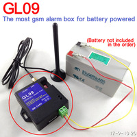 Battery Operated 8 Channel GSM SMS Alarm Box For Home Alarm System Warehouse Safety Water Water