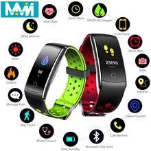 Q8S Heart Rate Monitor Fitness Bracelet Smart Wristband Blood Pressure/Oxygen Band IP68 Waterproof Watch