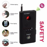 LESHP CC308 Full Range Wireless Camera GPS Anti Spy Bug Detect RF Signal Detector GSM Device