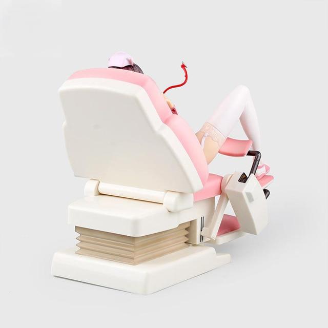 18cm Native Saitom Nurse Momoi Figure W/ Examination Chair Ver. 1/7 Scale PVC Sexy Figure Model 5