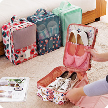 Travel Network Perspective Dust And Waterproof Shoes Bag Business Storage