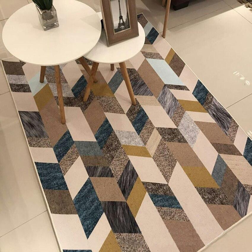 FYMX 3D imprimé tapis pour salon chambre maison grand tapis canapé sol tapis zone tapis enfants chambre tapis moderne mode décor - 5